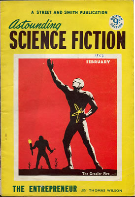 Astounding (British Edition) - Feb 1953