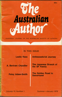 The Australian Author
