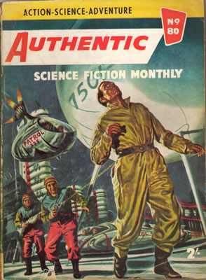 Authentic Science Fiction No: 80 - May 1957