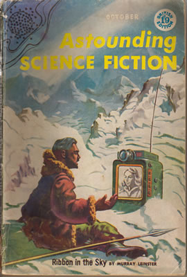 Astounding (British Edition) - Oct 1957
