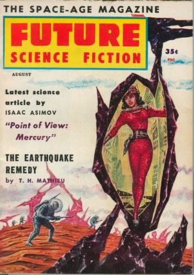 Future Science Fiction No: 38 - Aug 1958
