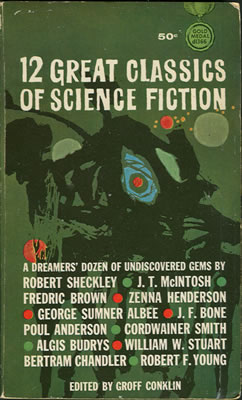 12 Great Classics of Science Fiction 1963