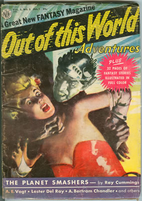 Out of This World Adventures - Jul 1950