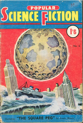 Popular Science Fiction (Australian) No: 6 - Mar 1955