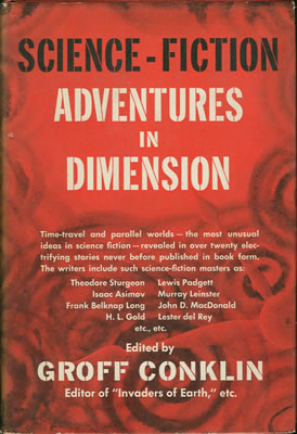 Science Fiction Adventures in Dimension 1953