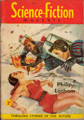 Science Fiction Monthly (Australian) No: 8 - Apr 1956