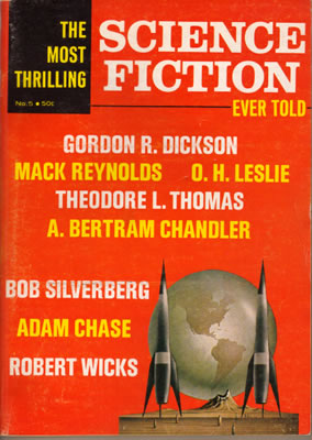 The Most Thrilling Science Fiction Ever Told No: 5 1967