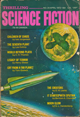 Thrilling Science Fiction - Apr 1972