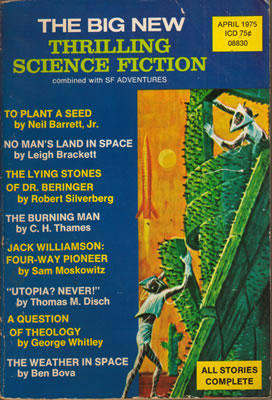 Thrilling Science Fiction - Apr 1975