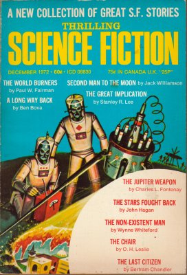 Thrilling Science Fiction - Dec 1972
