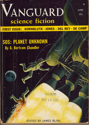 Vanguard Science Fiction - Jun 1958