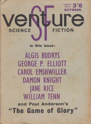 Venture Science Fiction No: 12 - Oct 1964