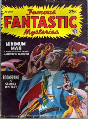 Famous Fantastic Mysteries - Aug 1947
