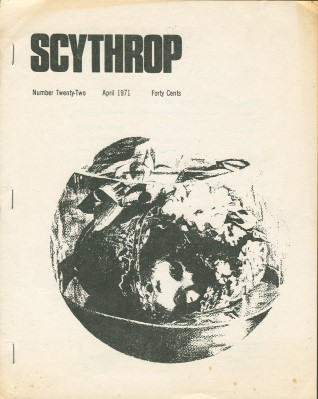 Scythrop No: 22 - Apr 1971