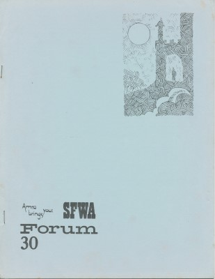 SFWA Forum No: 30 - Jun 1973