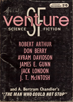 Venture Science Fiction - Dec (Australasia) 1964